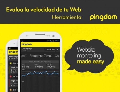 Cómo medir y optimizar la velocidad de tu página web: Pingdom