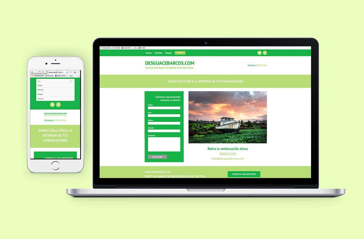 35e95158a24 Diseño Página Web Estilo Landing Page